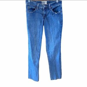 Signature by Levi's mid rise straight leg jeans